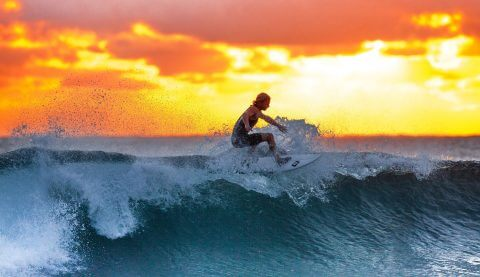 Perfect Break Wines - Surfing